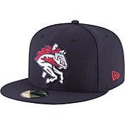 New Era Men's Binghamton Rumble Ponies 59Fifty Navy Authentic Hat