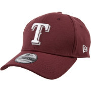 New Era Men's Texas Rangers 39Thirty City Pride Maroon/White Stretch Fit Hat