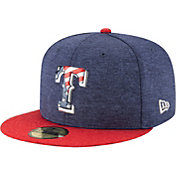 New Era Men's Texas Rangers 59Fifty 2017 July 4th Authentic Hat
