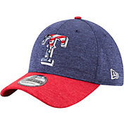 New Era Men's Texas Rangers 39Thirty 2017 July 4th Flex Hat