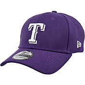 New Era Men's Texas Rangers 39Thirty City Pride Purple/White Flex Hat