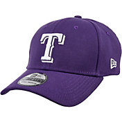 New Era Men's Texas Rangers 39Thirty City Pride Purple/White Stretch Fit Hat