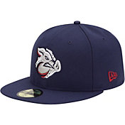 New Era Men's Lehigh Valley IronPigs 59Fifty Navy Authentic Hat
