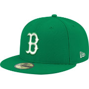 New Era Men's Boston Red Sox 59Fifty City Pride Kelly Green Fitted Hat
