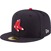 New Era Men's Boston Red Sox 59Fifty Alternate Navy Authentic Hat