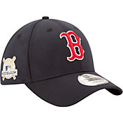 New Era Men's Boston Red Sox 39Thirty 2017 MLB Postseason Navy Stretch Fit Hat