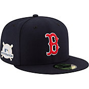 New Era Men's Boston Red Sox 59Fifty 2017 MLB Postseason Navy Authentic Hat
