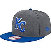 New Era Men's Kansas City Royals 9Fifty Grey Adjustable Hat
