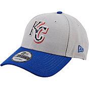 New Era Men's Kansas City Royals Americana 9Forty Grey Adjustable Hat