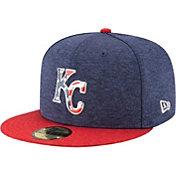 New Era Men's Kansas City Royals 59Fifty 2017 July 4th Authentic Hat