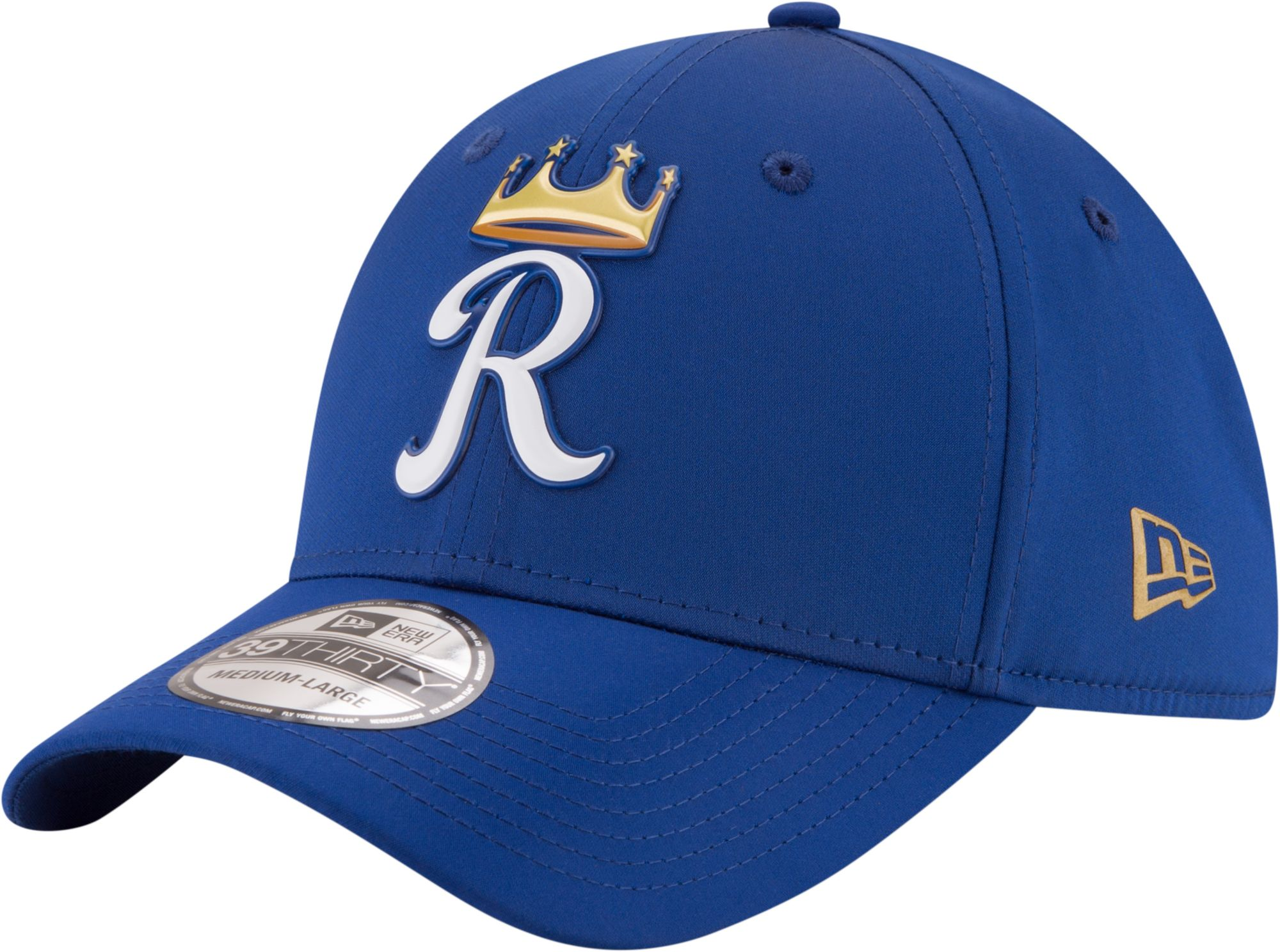 Kansas City Royals 40th Anniversary Gray Bottom Fitted | CAP TO MATCH