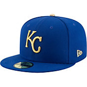 New Era Men's Kansas City Royals 59Fifty Alternate Royal Authentic Hat