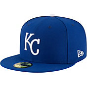 New Era Men's Kansas City Royals 59Fifty Game Royal Authentic Hat