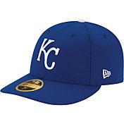 New Era Men's Kansas City Royals 59Fifty Game Royal Low Crown Authentic Hat