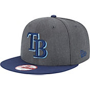 New Era Men's Tampa Bay Rays 9Fifty Grey Adjustable Hat