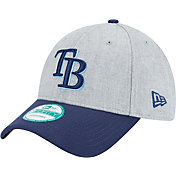 New Era Men's Tampa Bay Rays 9Forty Grey Adjustable Hat