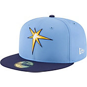 New Era Men's Tampa Bay Rays 59Fifty PROLIGHT Batting Practice Fitted Hat