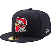 New Era Men's Portland Sea Dogs 59Fifty Navy Authentic Hat