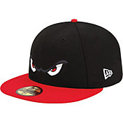 New Era Men's Lake Elsinore Storm 59Fifty Black/Red Authentic Hat