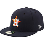 New Era Men's Houston Astros 59Fifty Home Navy Authentic Hat
