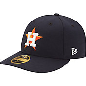 New Era Men's Houston Astros 59Fifty Home Navy Low Crown Authentic Hat