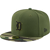 New Era Men's Detroit Tigers 59Fifty 2017 Memorial Day Camo Authentic Hat