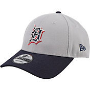 New Era Men's Detroit Tigers Americana 9Forty Grey Adjustable Hat