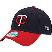 New Era Men's Minnesota Twins 9Forty Navy Adjustable Hat