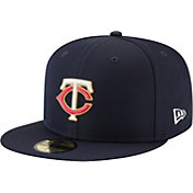 New Era Men's Minnesota Twins 59Fifty PROLIGHT Batting Practice Fitted Hat