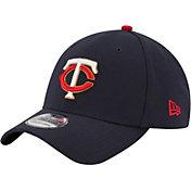 New Era Men's Minnesota Twins 39Thirty Navy Flex Hat