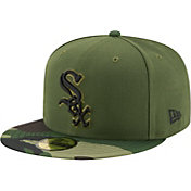 New Era Men's Chicago White Sox 59Fifty 2017 Memorial Day Camo Authentic Hat