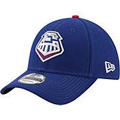 New Era Men's Round Rock Express 9Forty Royal Adjustable Hat