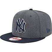 New Era Men's New York Yankees 9Fifty Grey Adjustable Hat