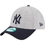 New Era Men's New York Yankees 9Forty Grey Adjustable Hat
