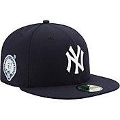 New Era Men's New York Yankees 59Fifty Game Navy Authentic Hat w/ Derek Jeter Jersey Retirement Patch
