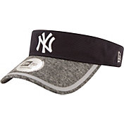 New Era Men's New York Yankees Tinted Trim Adjustable Visor