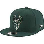 New Era Men's Milwaukee Bucks 9Fifty Adjustable Snapback Hat