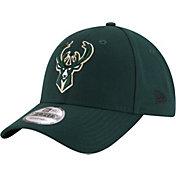 New Era Men's Milwaukee Bucks 9Forty Adjustable Hat