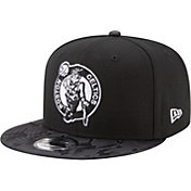 New Era Men's Boston Celtics 9Fifty Black Camo Adjustable Snapback Hat