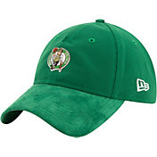 New Era Men's Boston Celtics On-Court 9Twenty Adjustable Hat