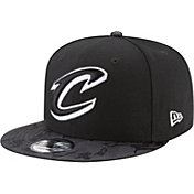 New Era Men's Cleveland Cavaliers 9Fifty Black Camo Adjustable Snapback Hat