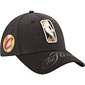 New Era Men's 2017 NBA Finals Cleveland Cavaliers 9Forty Black Adjustable Hat