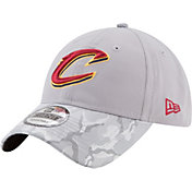 New Era Men's Cleveland Cavs 9Twenty Grey Camo Adjustable Hat