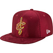 New Era Men's Cleveland Cavaliers On-Court 9Fifty Adjustable Snapback Hat