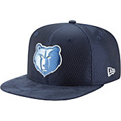 New Era Men's Memphis Grizzlies On-Court 9Fifty Adjustable Snapback Hat