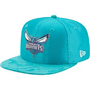 New Era Men's Charlotte Hornets On-Court 9Fifty Adjustable Snapback Hat