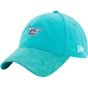 New Era Men's Charlotte Hornets On-Court 9Twenty Adjustable Hat