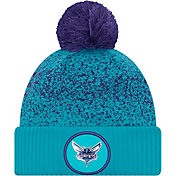 New Era Men's Charlotte Hornets On-Court Knit Hat