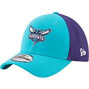 New Era Men's Charlotte Hornets On-Court 39Thirty Stretch Fit Hat