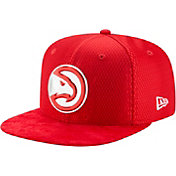 New Era Men's Atlanta Hawks On-Court 9Fifty Adjustable Snapback Hat